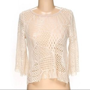 Free People / Gypsy Junkies • Cropped Blouse